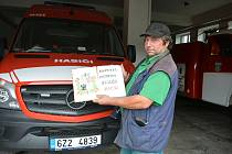 Na snímku z 26. srpna Stanislav Zvončák, hasič, který deset let vedl mládež a oživil hasičský sport.