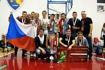 Ilustrační foto. Univerzitní futsalisté Zlína dosáhli na evropský titul.