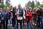 Demonstrace ve Zlíně