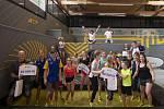 Sazka olympijský víceboj - rozdělení jednoho milionu korun 35 školám v podobě poukazu na sportovní vybavení