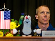 Americký astronaut Andrew Feustel