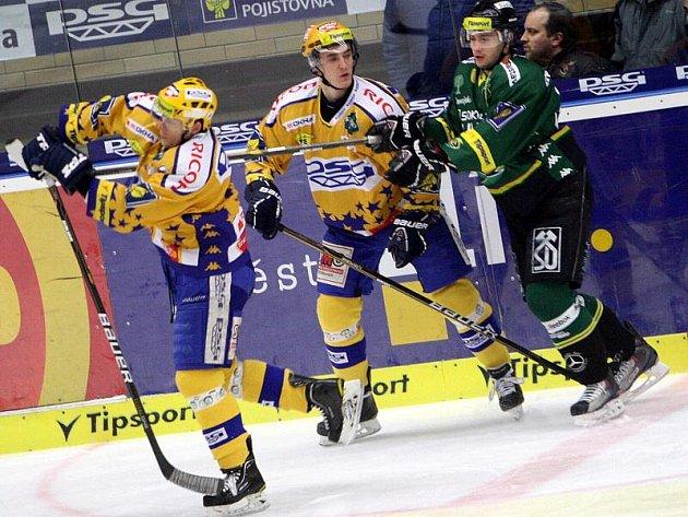 Extraligoví hokejisté Zlína nastoupili ve 37. kole nejvyšší soutěže proti Karlovým Varům.