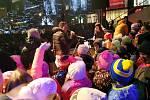Česko zpívá koledy na náměstí Míru ve Zlíně 11. 12. 2019