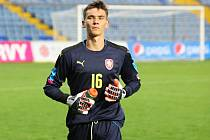 Osmnáctiletý brankář Manchesteru United Matěj Kovář udržel v zápase s Portugalskem čisté konto.