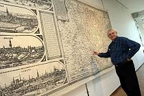 Výstava Proměny Zlína na mapách a plánech v galerii Alternativa ve Zlíně.