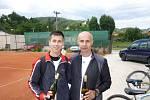 foto ze 3. tenisového turnaje ATP Valašska v Brumově.
