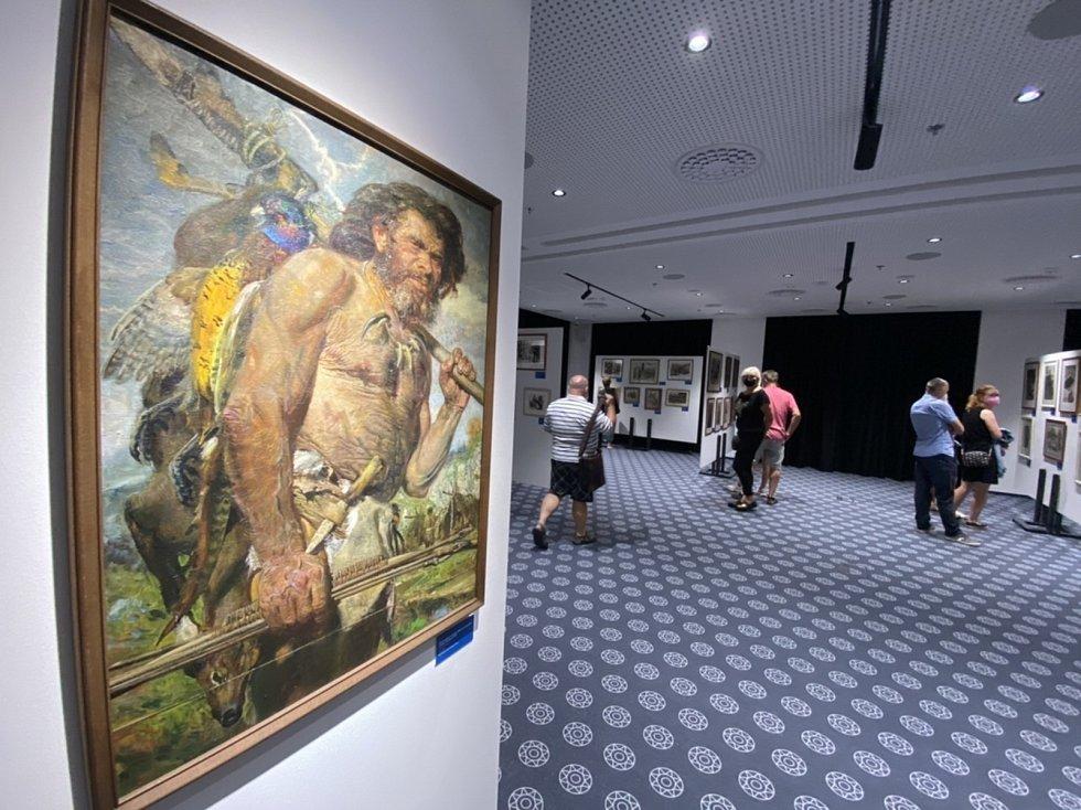 Večerní prohlídky Burianovy výstavy.