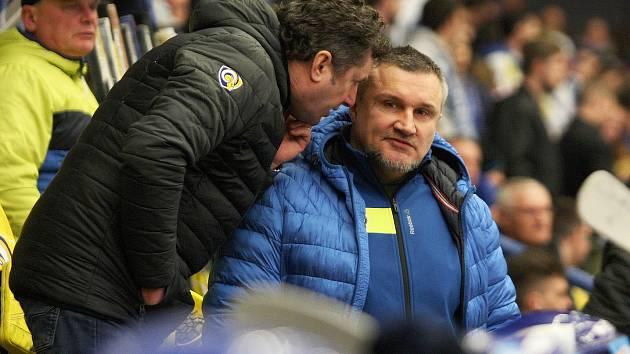 Trenér PSG Berani Zlín Robert Svoboda bude mít dá za asistenta Martina Hamrlíka.