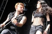 Festival  Masters of rock 2014 ve Vizovicích. Skupina Serenity.