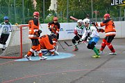 Moravská hokejbalová liga Malenovice-Flyers Jihlava