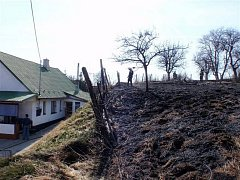 Plameny zasáhly několik hektarů přírodní plochy na loukách, v lesích, v sadech a zahradách.