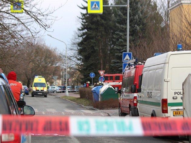 Anonym nahlásil bombu v domě u malenovické školy