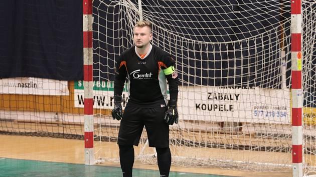 futsalový brankář VŠSK Zlín Roman Vitásek