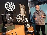Otevření Kabinetu filmové historie na filmových ateliérech na Kudlově.