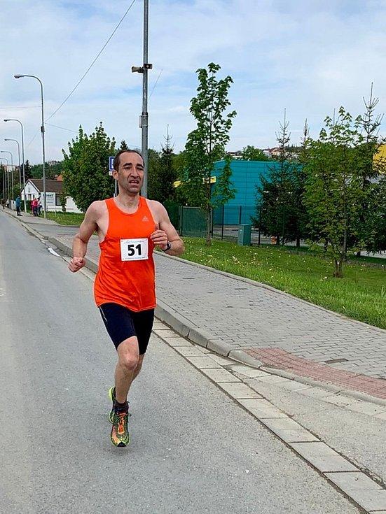 Běh na 2 míle ve Zlíně