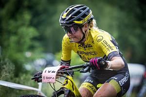 bikerka Tereza Tvarůžková