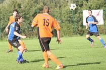 Fotbal OP: Lípa (oranžoví) - Louky