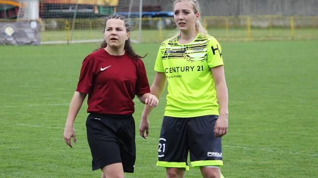fotbalová MSDŽ Mutěnice - Holešovské holky