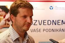 Vitez krajskeho kola Vodafone Firma roku 2011, David Vlk.
