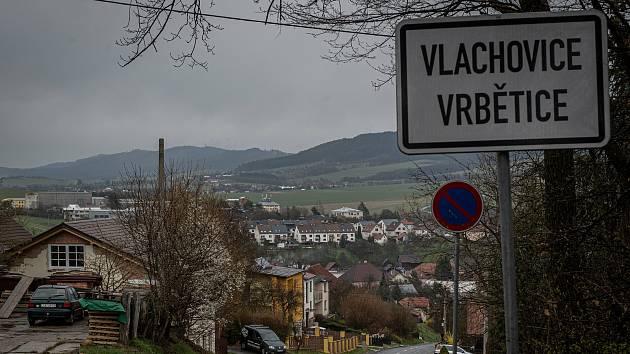 Obec Vlachovice - Vrbětice na Zlínsku, duben 2021
