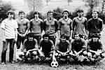 1983. Turnaj v kopané na počest tragicky zesnulého brankáře Stanislava Kužely v roce 1983.