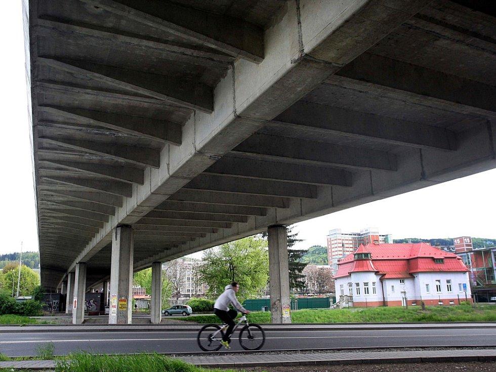 Čepkovský most ve Zlíně