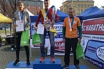 Ondřej Velička na mistrovství republiky z běhu na 100 kilometrů 2019