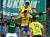 fotbal FC  FASTAV Zlín   - FK Jablonec. Ondřej Bačo v akci