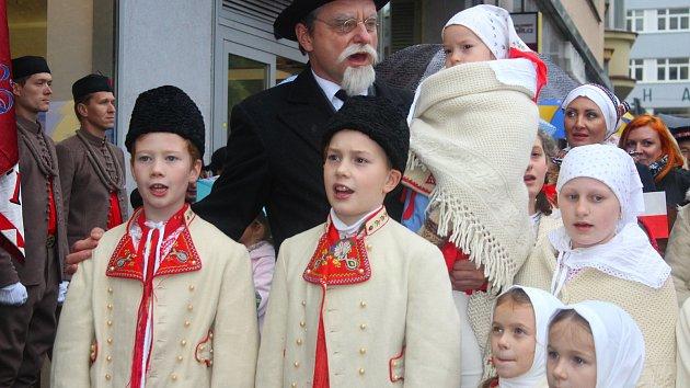Oslavy 100. výročí založení Československa ve Zlíně