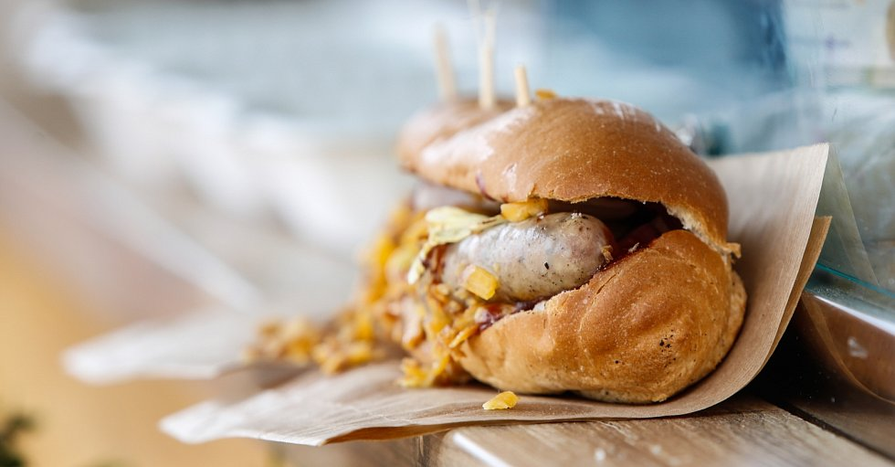 Burger Street Festival. Ilustrační foto.