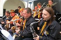 Koncert Avion Big Bandu na zámku