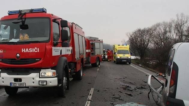 Smrtelná dopravní nehoda u Příluk na Zlínsku.
