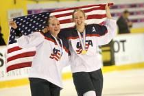 Americké juniorky slaví zlato na MS hokejistek do 18 let ve Zlíně