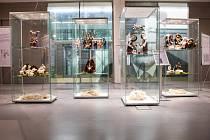 Výstava plstěných betlémů Ivany Langrové