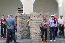 Do Zlína dorazilo srdce pro Václava Havla. Vyrobeno bylo ze svíček, které z piety k Václavu Havlovi zapalovali lidé v celé zemi.
