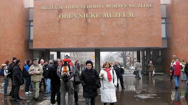 Stávka státních zaměstnanců ve Zlíně.