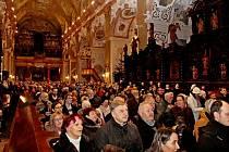TŘICÁTÝ. Benefiční Svatoštěpánský koncert navštívilo ve velehradské bazilice rekordních 1250 posluchačů.