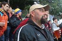 Fanoušci na zápase Fastav Zlín - Sparta Praha