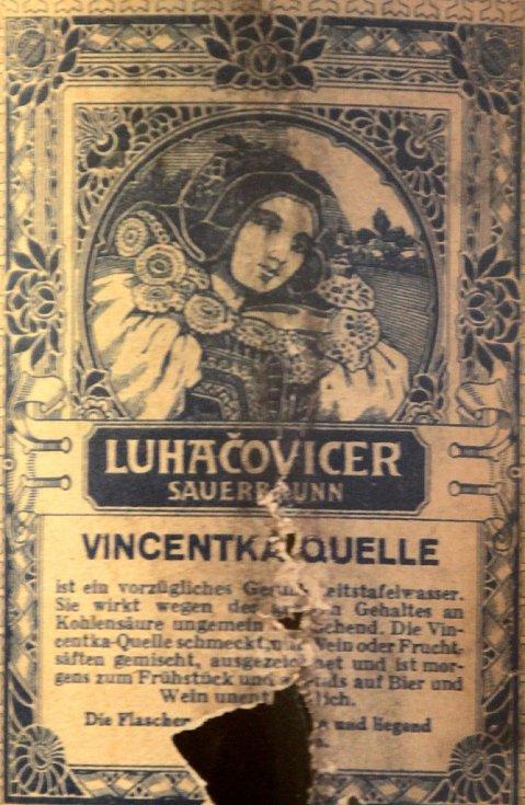 Minerální voda Vincentka v Luhačovicích.