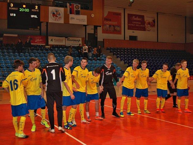 Zlínští futsaloví vysokoškoláci v derby udolali Hanáky