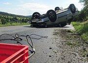 Dopravní nehoda u Provodova.