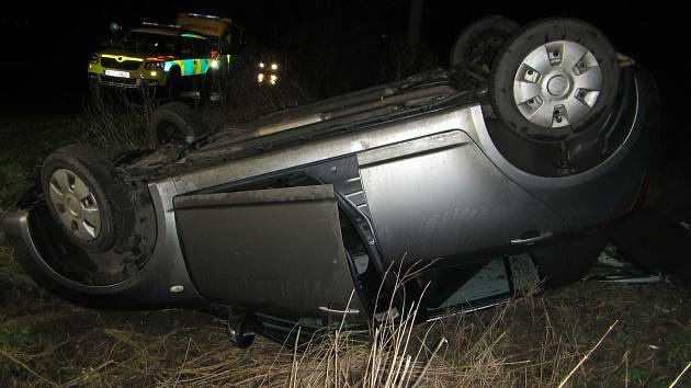 Nehoda v Kunovicích, sobota 6.2.2021