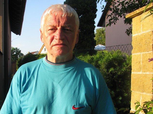 Lubomír Koutný, který v dresu Gottwaldova odehrál čtyři prvoligové sezony 1966 až 1970.