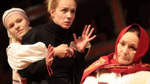 Hra Žítkovské bohyně v Městském divadle ve Zlíně. Ilustrační foto