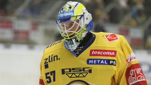 Zlínský gólman Daniel Huf
