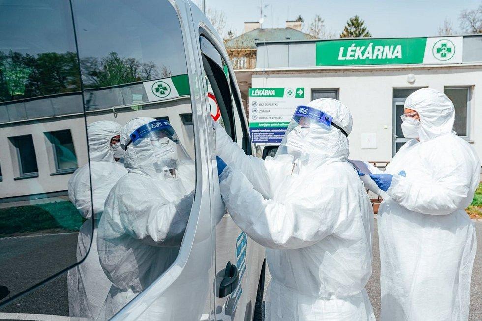 Odběrové místo v Kroměříži jsme zprovoznili jako druhé v kraji už 8. dubna, dneškem ukončilo svou činnost.