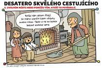 Autorem komiksového Desatera je ilustrátor, spisovatel a scénárista Vojtěch Jurík, který tvoří pod pseudonymem Vhrsti.