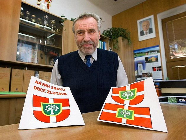 Stanislav Kolář, starosta obce Žlutava.