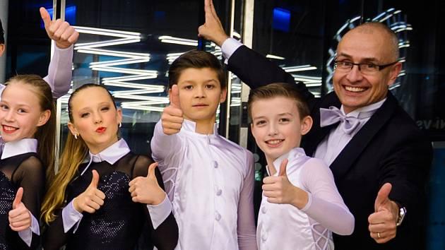 Taneční mistr  a šéf tanečního studia Radek Felcman