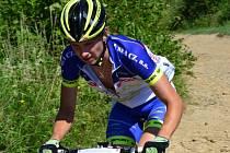 Cyklista Petr Holzner
